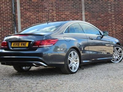 used Mercedes E350 E-CLASS 3.0AMG LINE EDITION 2d 255 BHP All Vehicl diesel coupe