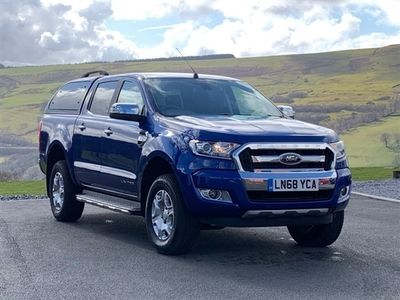 used Ford Ranger 2.2 LIMITED 4X4 DCB TDCI 4d 158 BHP