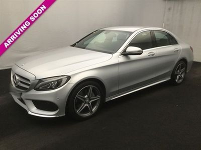 used Mercedes C220 C Class 2.1D AMG LINE 4d AUTO 170 BHP