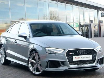 used Audi RS3 RS3TFSI 400 Quattro 4dr S Tronic Saloon 2019