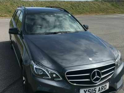 used Mercedes E220 E Class 2.1CDI BlueTEC AMG Night Edition (Premium) 7G-Tronic Plus 5dr
