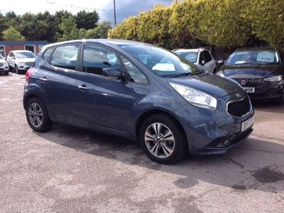 used Kia Venga 1.6 2 5d AUTOMATIC WITH VERY LOW MILEAGE