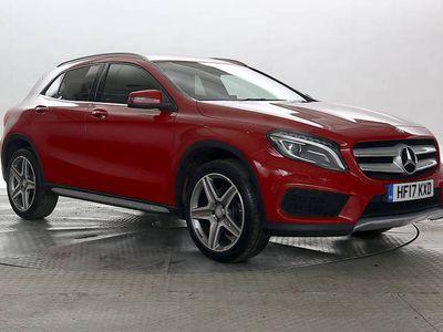 used Mercedes 220 GLA Class 2.2AMG Line Premium 4Matic DCT Auto 5-Door
