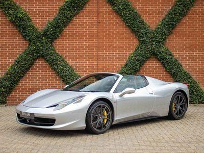 used Ferrari 458 4.5 Spider Auto Seq 2dr