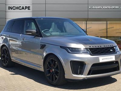 used Land Rover Range Rover Sport ESTATE 5.0 P575 S/C SVR 5dr Auto 2020/20