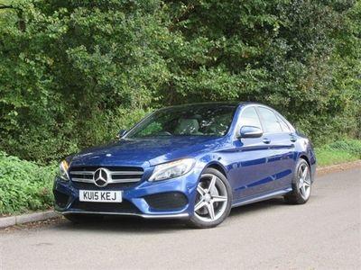 used Mercedes C300 C Class 2.1BT HYBRID AMG LINE PREMIUM PLUS 4d AUTO 204 BHP