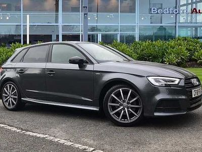 used Audi A3 Sportback Black Edition 1.5 TFSI cylinder on demand 150 PS 6-speed