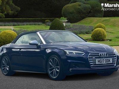 used Audi A5 Cabriolet S5 Quattro 2dr Tiptronic