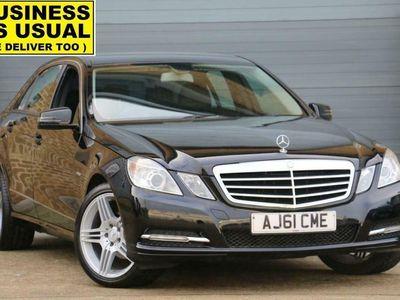 used Mercedes E200 E ClassCDI BlueEFFICIENCY SE [Start Stop] 4-Door