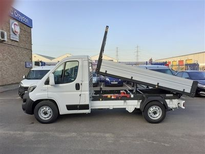 used Fiat Ducato 35 MWB Tipper 2.3 140PS with SAT NAV
