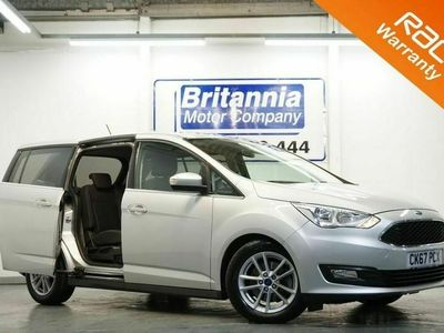 used Ford Grand C-Max 1.0 ZETEC ECOBOOST 7 SEATER MPV 125 BHP 1x PRIVATE OWNER / 3 SERVICE STAMPS 5dr