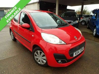 used Peugeot 107 1.0 ACTIVE 5d 68 BHP