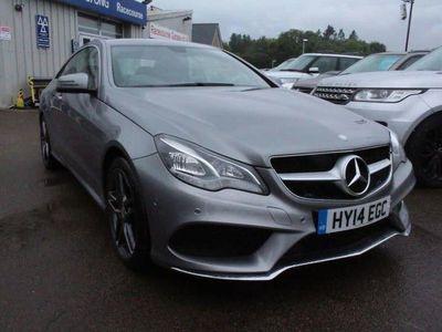 used Mercedes E200 E CLASS 2.0AMG SPORT 2d 184 BHP VERY RARE PETROL MOD