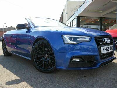 used Audi A5 Cabriolet 2.0 TDI S LINE SPECIAL EDITION PLUS 2d 175 BHP 2-Door