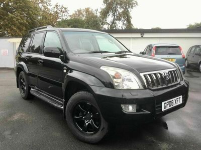 used Toyota Land Cruiser 3.0 D-4D Invincible 5dr