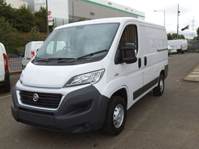 used Fiat Ducato SWB Tecnico 30 140PS White with side sliding door and rear doors