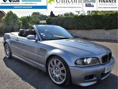 used BMW M3 Cabriolet M3 2dr