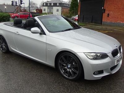 used BMW 330 Cabriolet 330d M Sport Highline [245] 2dr Step Auto