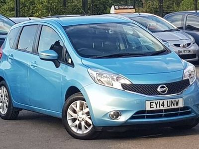 used Nissan Note PETROL MANUAL MPV 5 DOORS