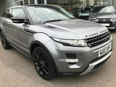 used Land Rover Range Rover evoque 2.2 SD4 Dynamic 3dr Auto