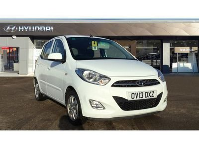 used Hyundai i10 2013 Banbury 1.2 Active 5dr Petrol Hatchback