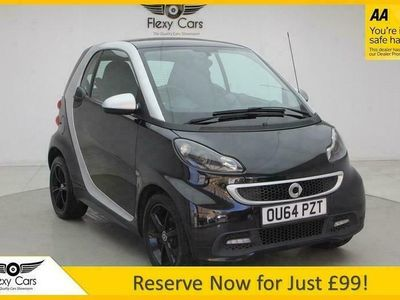 used Smart ForTwo Coupé 1.0 GRANDSTYLE EDITION 2d 84 BHP