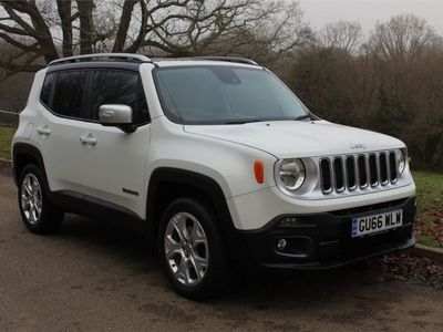used Jeep Renegade 2.0 [140] Diesel Limited 4x4 9 Speed Automatic 5dr