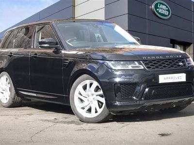 used Land Rover Range Rover Sport 2019 Glasgow 3.0 Sdv6 Hse Dynamic 5Dr Auto [7 Seat]