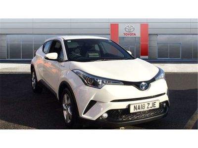 used Toyota C-HR 2018 Chesterfield 1.8 Hybrid Icon 5dr CVT Hybrid Hatchback
