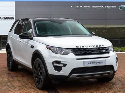 used Land Rover Discovery Sport 2.0 Td4 180 Hse Black 5Dr Auto