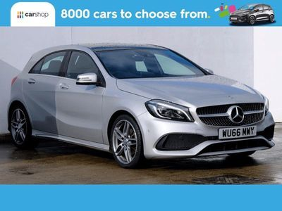 used Mercedes A180 A-ClassAMG Line Premium Plus 5dr Leather Seats 1.5