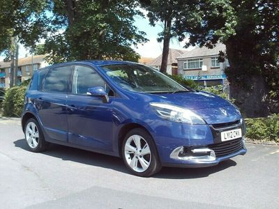 used Renault Scénic 1.5DCI GUARANTEED CAR FINANCE BAD CREDIT APPLY TODAY MPV 2012