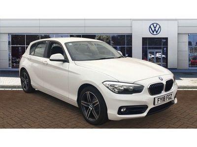 used BMW 118 1 Series d Sport 5dr [Nav]