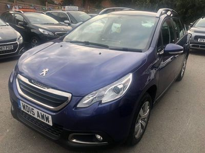 used Peugeot 2008 1.6 e-HDi Active SUV 5dr Diesel EGC (s/s) (98 g/km, 92 bhp)
