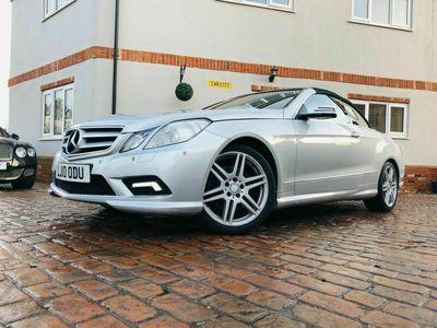 used Mercedes E350 E Class 3.0CDI BlueEFFICIENCY Sport Cabriolet 2dr