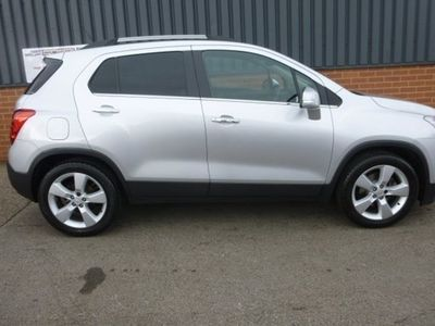 used Chevrolet Trax Hatchback 1.7 VCDi LT AWD 5d