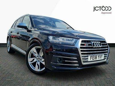 used Audi SQ7 4.0 TDI V8 Tiptronic quattro (s/s) 5dr