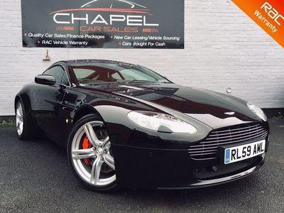 used Aston Martin V8 Vantage 4.7Coupe 2dr Petrol Sportshift (420 bhp)