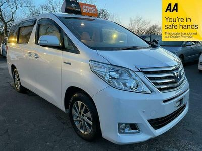 used Toyota Alphard 2.4 Hybrid 7 Seats 4WD Luxury MPV 5dr