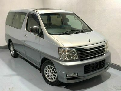 used Nissan Elgrand E50 3.5 V6 4WD X, Low Miles, Fresh Import, Sunroofs 7 Seater
