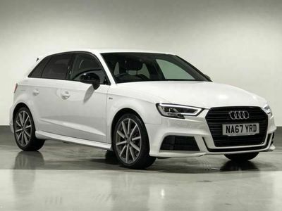 used Audi A3 Sportback 1.5 TFSI Black Edition 5dr special editions