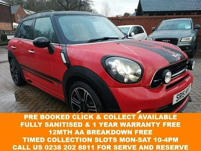 used Mini Cooper SD Countryman 2.0 ALL4 5d 141 BHP FSH+LEATHER+CRUISE+JCW KIT