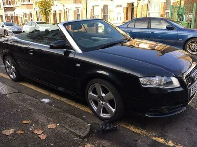 used Audi A4 Cabriolet 1.8T S Line 2dr
