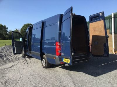 used VW Crafter 2.0 TDI 163PS High Roof Van, 2014, Van, 121000 miles.