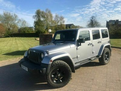 used Jeep Wrangler 2.8 CRD Overland Axle + Auto 4WD 4dr