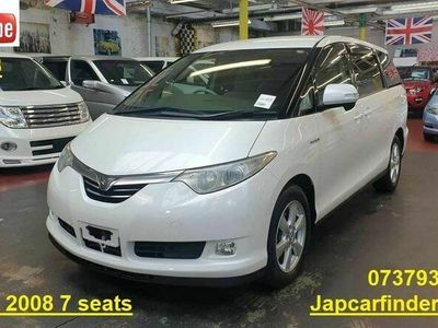 used Toyota Estima Hybrid E-FOUR X 4wd Recliner Camera 2.4 5dr