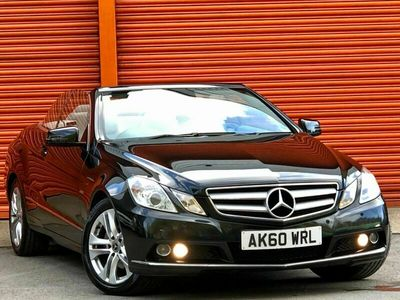 used Mercedes E220 E Class 2.1CDI BlueEFFICIENCY SE Cabriolet 2dr