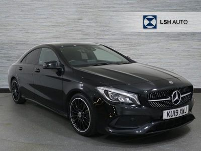 used Mercedes CLA220 CLA ClassAMG Line Night Edt 4Matic 4dr Tip Auto Saloon diesel coupe