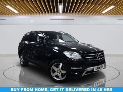 used Mercedes ML350 M-Class 3.0BLUETEC AMG SPORT 5d 258 BHP   OPEN 7 DAYS A WEEK - CALL TODAY!