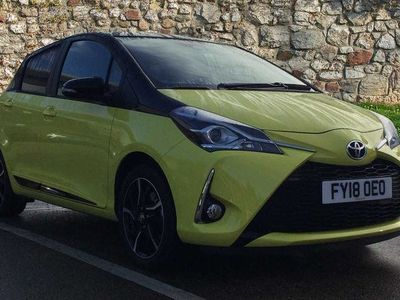 used Toyota Yaris Special Editions 1.5 VVT-i Yellow Edition 5dr Hatchback 2018